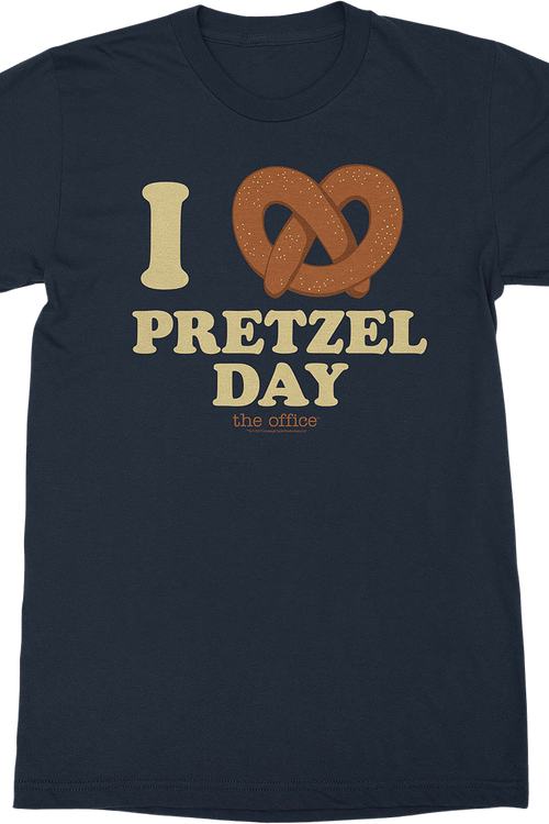 Pretzel Day The Office T-Shirt