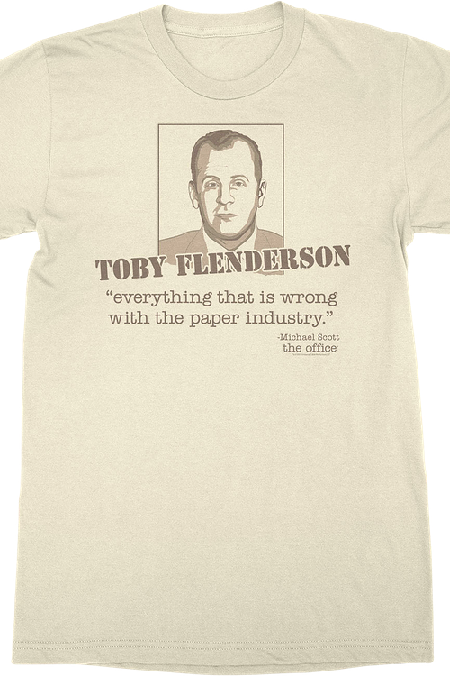 Toby Flenderson The Office T-Shirt