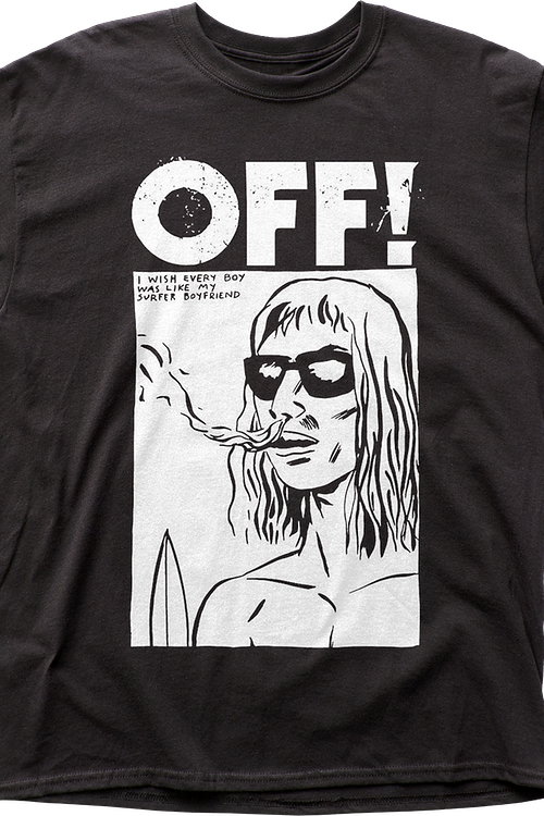 Wasted Years Off T-Shirt