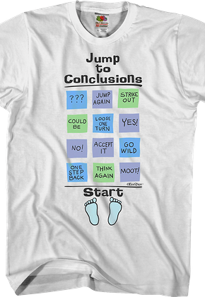 Jump To Conclusions Office Space T-Shirt