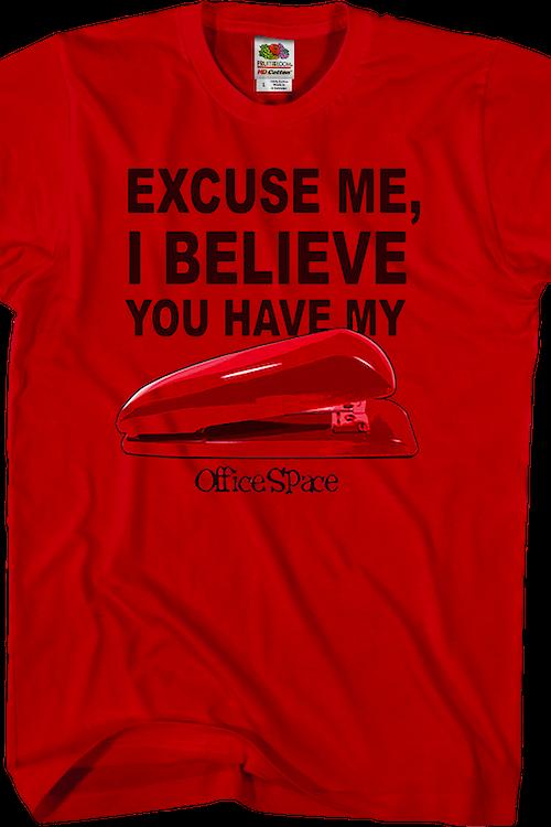 a672c22bb4 Stapler Office Space T-Shirt: Mens Office Space T-Shirt