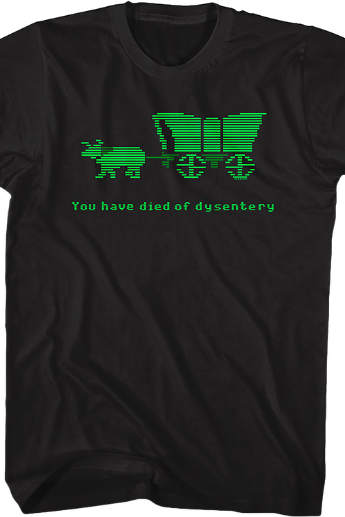 Oregon Trail Dysentery T-Shirt