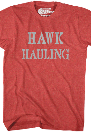 Hawk Hauling Over The Top T-Shirt