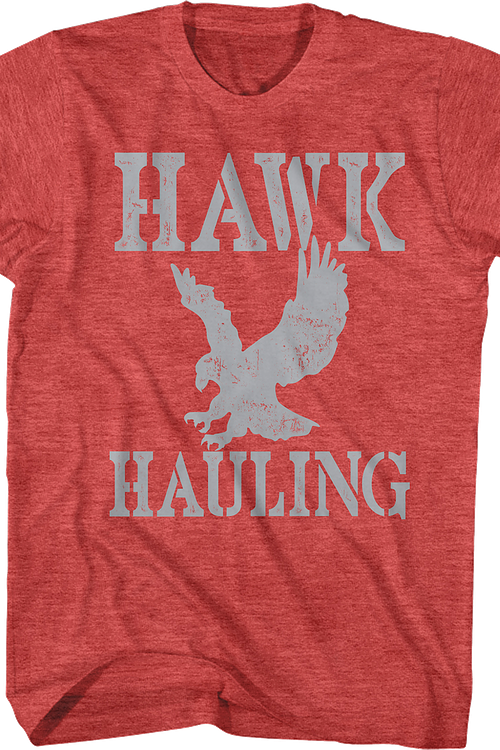 Hawk Hauling Logo Over The Top T-Shirt