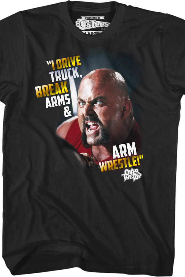 Arm Wrestle Over The Top T-Shirt