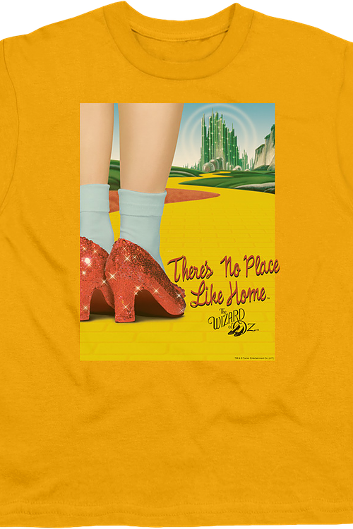 Youth There's No Place Like Home Wizard Of Oz Shirt