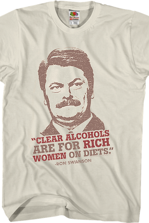 cd7fbaca3e1 Clear Alcohols Parks and Recreation T-Shirt. Men s T-Shirt