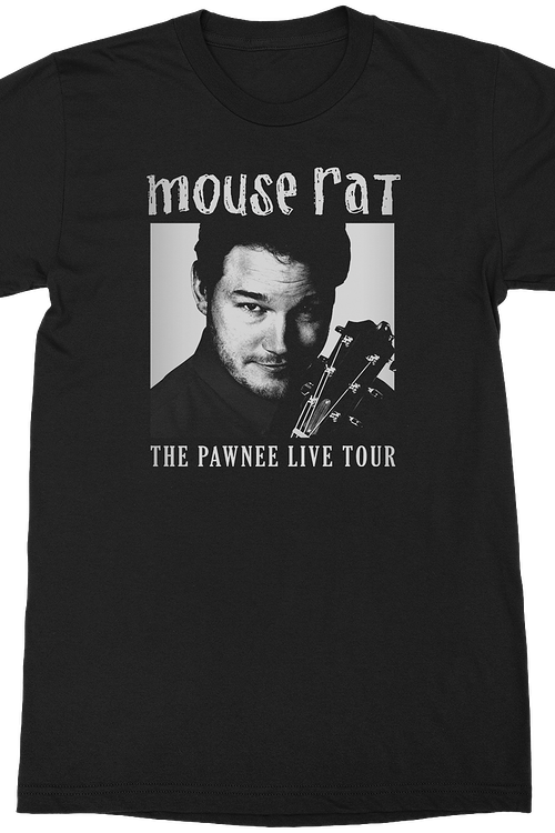 Mouse Rat Pawnee Live Tour Parks and Recreation T-Shirt