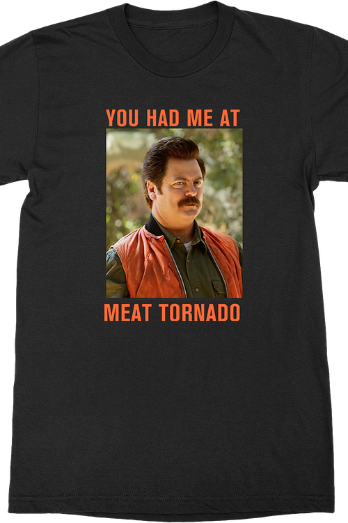 Meat Tornado Parks and Recreation T-Shirt
