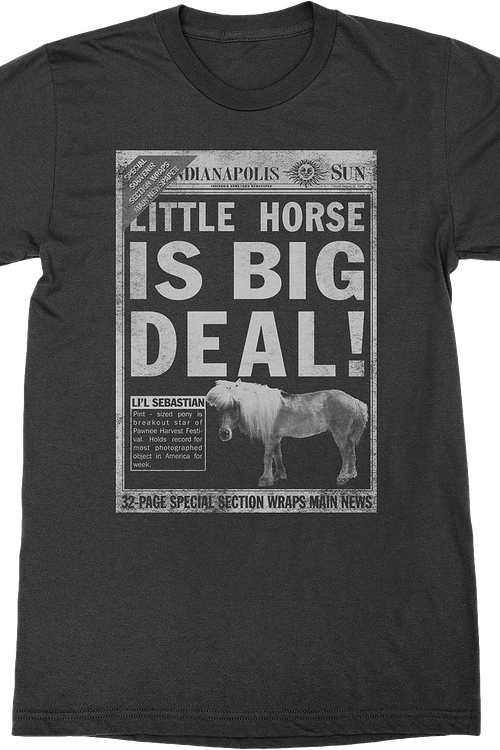Little Horse is Big Deal Parks and Recreation T-Shirt