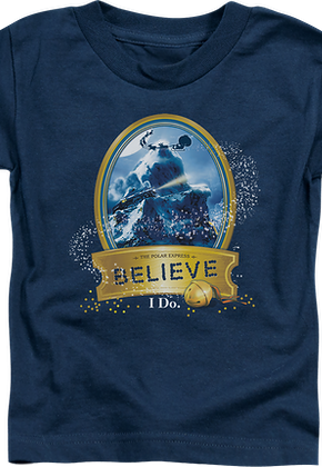 Youth Believe Polar Express Shirt