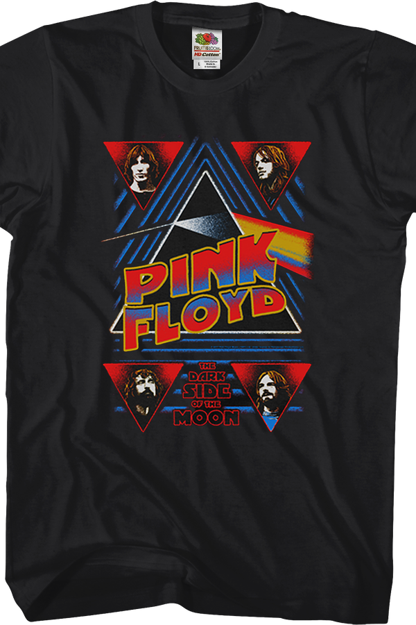 Pink Floyd Band Pictures Dark Side of the Moon T-Shirt