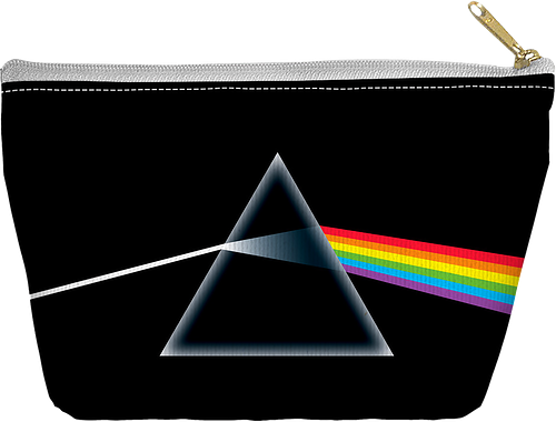 Dark Side of the Moon Pink Floyd Accessory Pouch