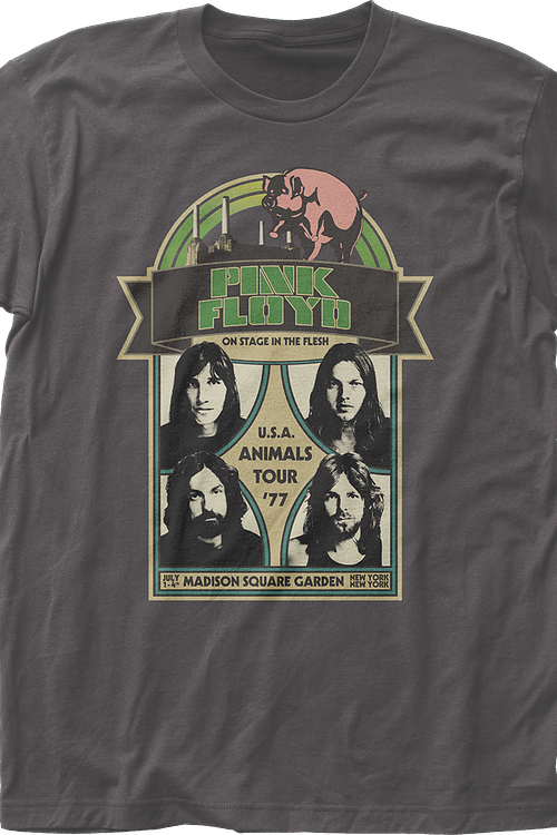 USA Animals Tour '77 Pink Floyd T-Shirt