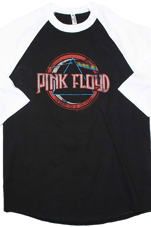 Dark Side of the Moon Pink Floyd Raglan Baseball Shirt