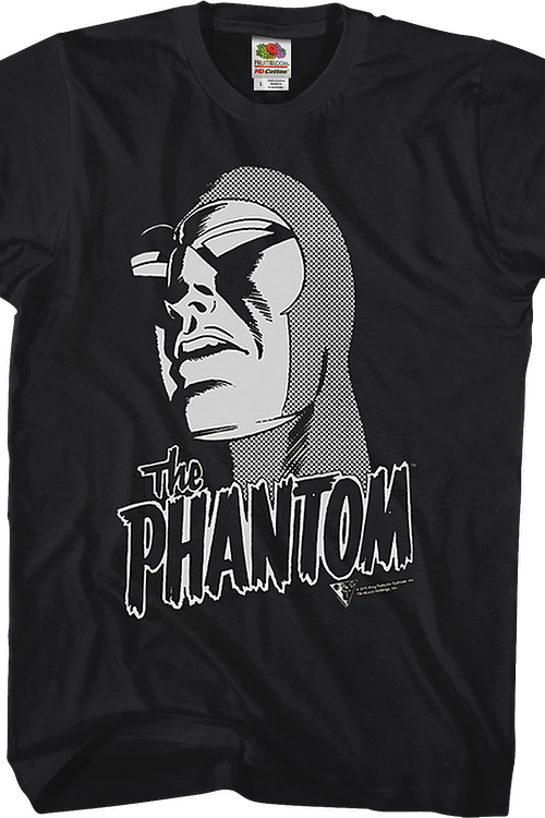 Black and White The Phantom T-Shirt