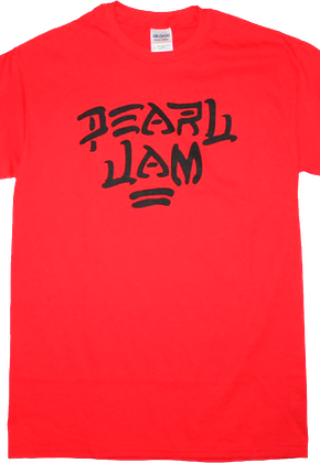 Red Pearl Jam T-Shirt