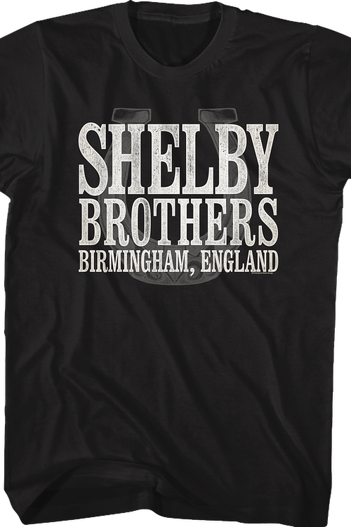 a09bb312 Shelby Brothers Peaky Blinders T-Shirt: Peaky Blinders Mens T-Shirt