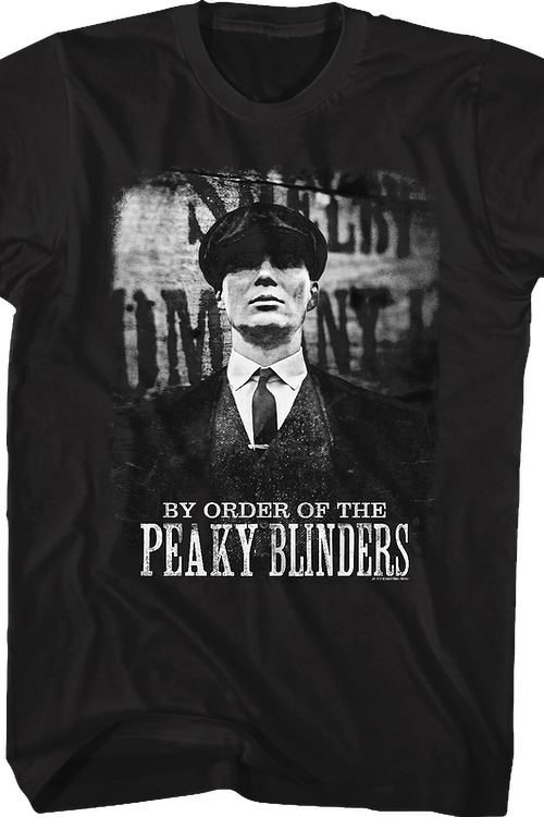 09c1dc6d Tommy Shelby Peaky Blinders T-Shirt: Peaky Blinders Mens T-Shirt
