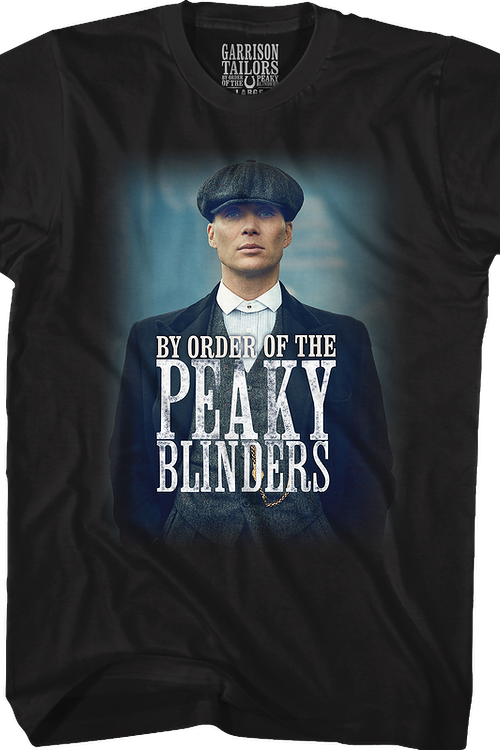 Tommy Shelby Photograph Peaky Blinders T-Shirt