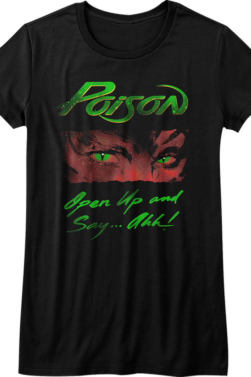 Junior Open Up and Say Ahh Poison Shirt