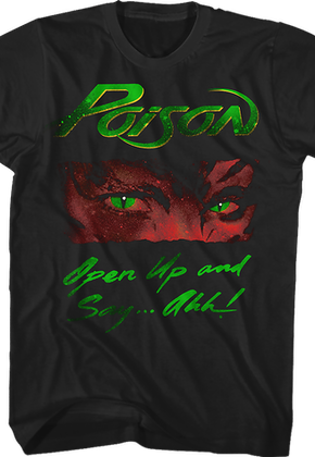 Open Up and Say Ahh Album Cover Poison T-Shirt