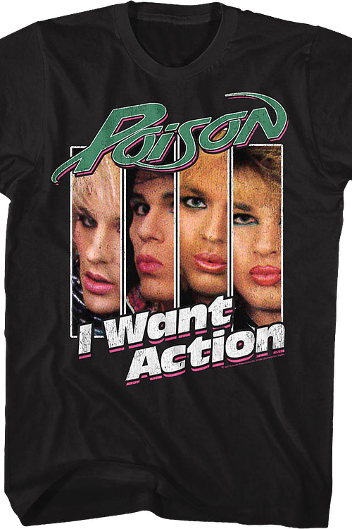I Want Action Poison T-Shirt