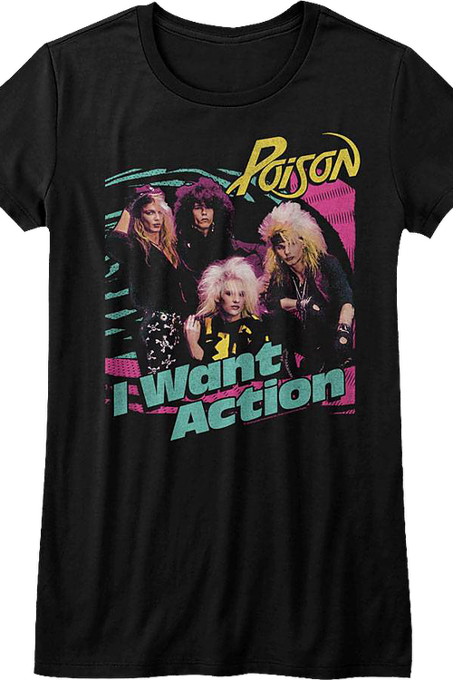 Junior I Want Action Poison Shirt
