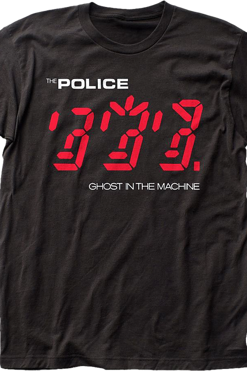 Ghost In The Machine Police T-Shirt