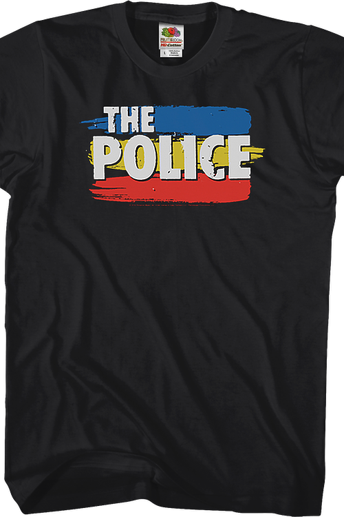 Stripe Logo The Police T-Shirt