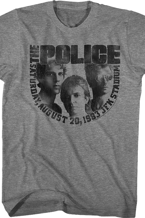 The Police 1983 Concert T-Shirt