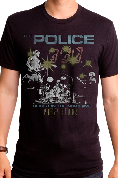 1982 Tour The Police T-Shirt