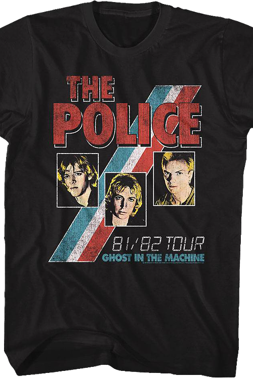 Ghost In The Machine Tour The Police T-Shirt