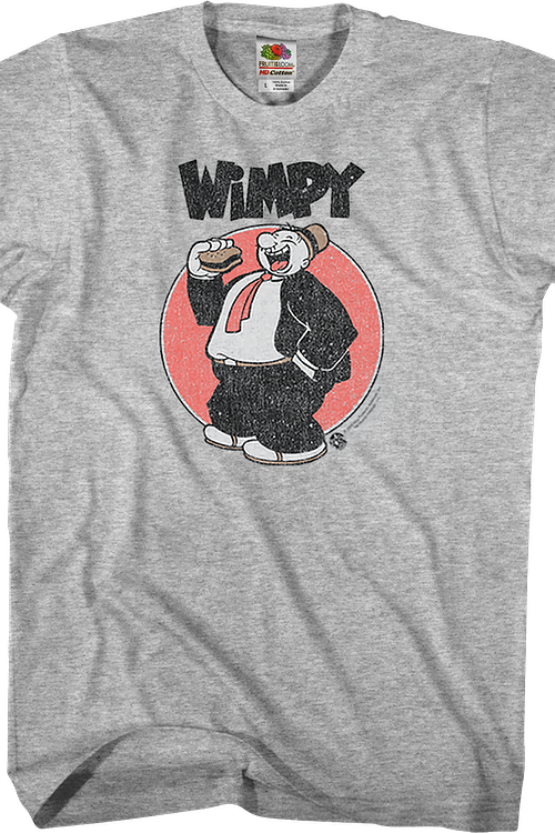 Distressed Wimpy Popeye T-Shirt