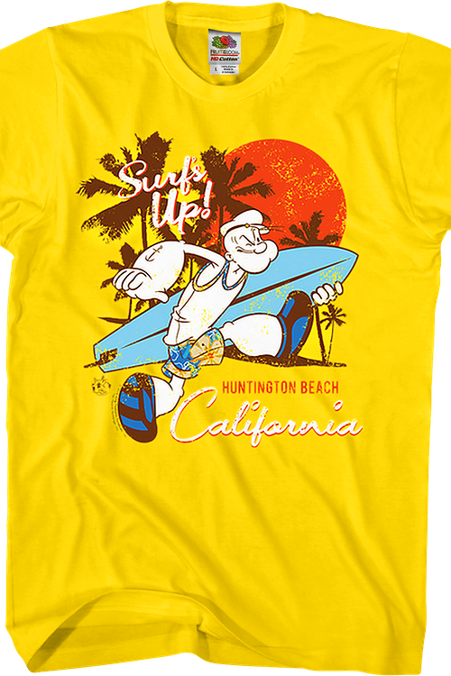 Surf's Up Popeye T-Shirt
