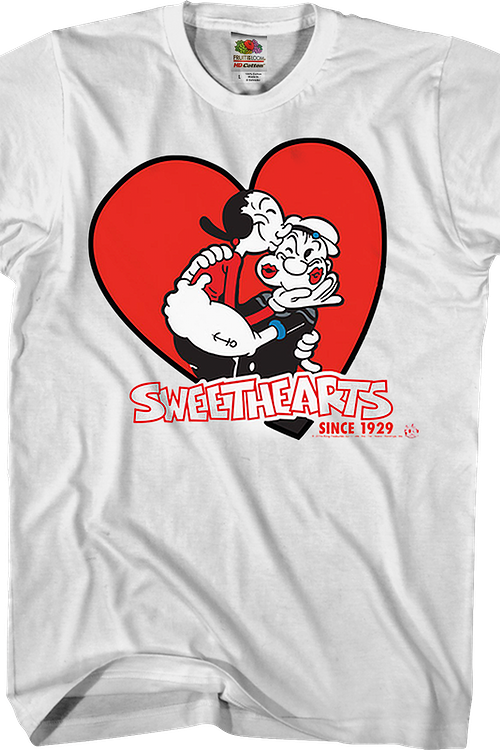 Sweethearts Olive Oyl and Popeye T-Shirt