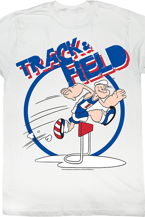 Track and Field Popeye T-Shirt