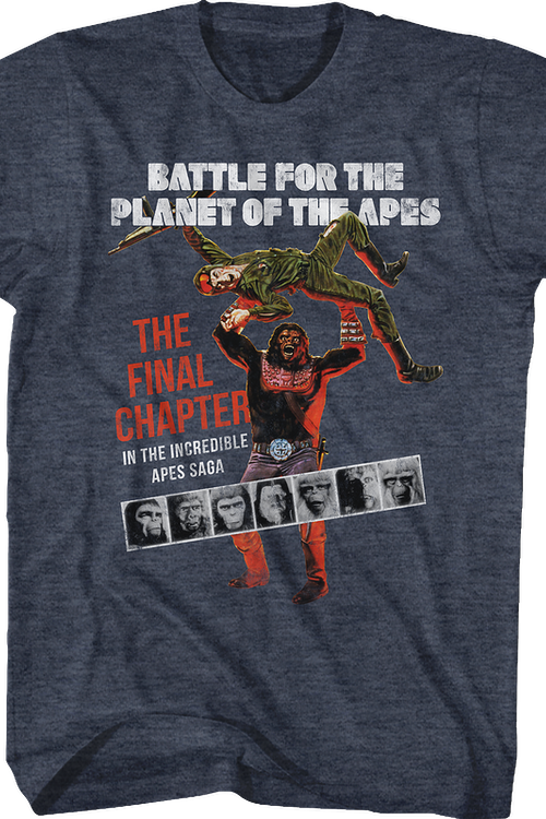 Battle For The Planet Of The Apes T-Shirt
