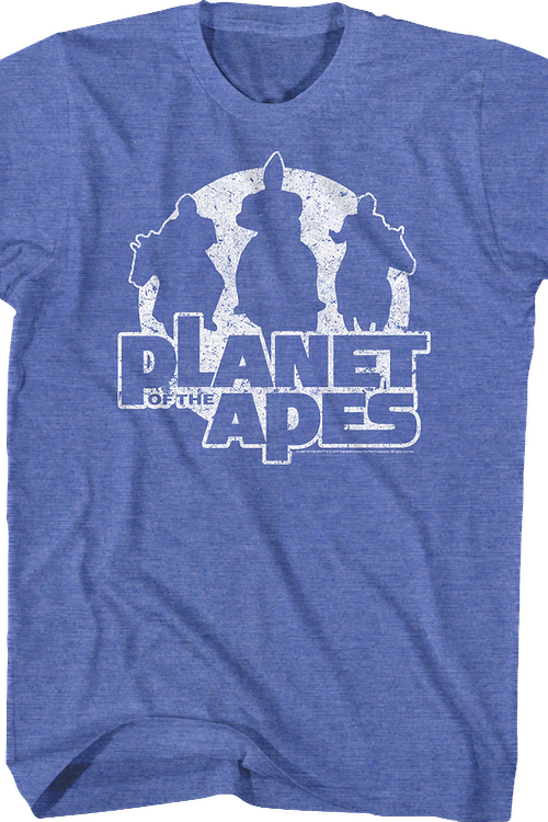 Silhouettes Planet Of The Apes T-Shirt