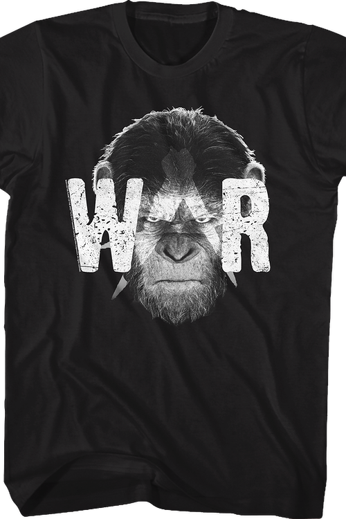 Distressed War Planet Of The Apes T-Shirt