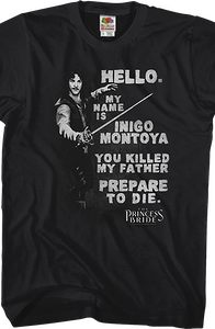 Inigo Montoya Princess Bride T-Shirt