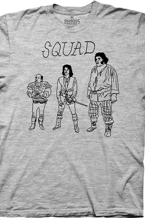 Brute Squad Sketch Princess Bride T-Shirt