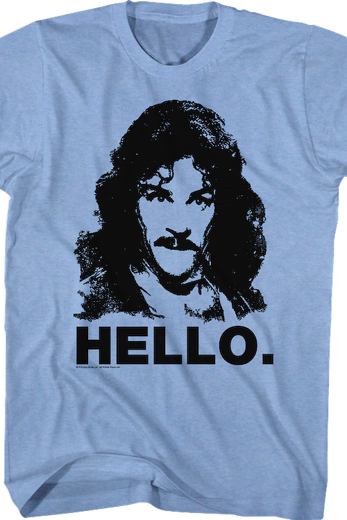 Hello Inigo Montoya Princess Bride T-Shirt