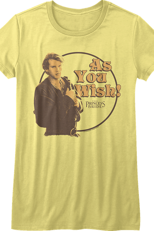 Junior Westley As You Wish Princess Bride Shirt