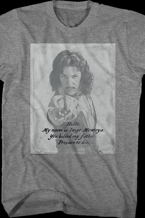 64e7b8e69 Vintage Inigo Montoya T-Shirt: Princess Bride Mens T-Shirt