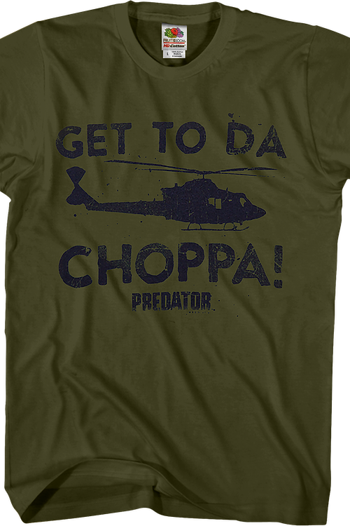 77be148d2 Get To Da Choppa Predator Shirt: Predator Mens T-shirt