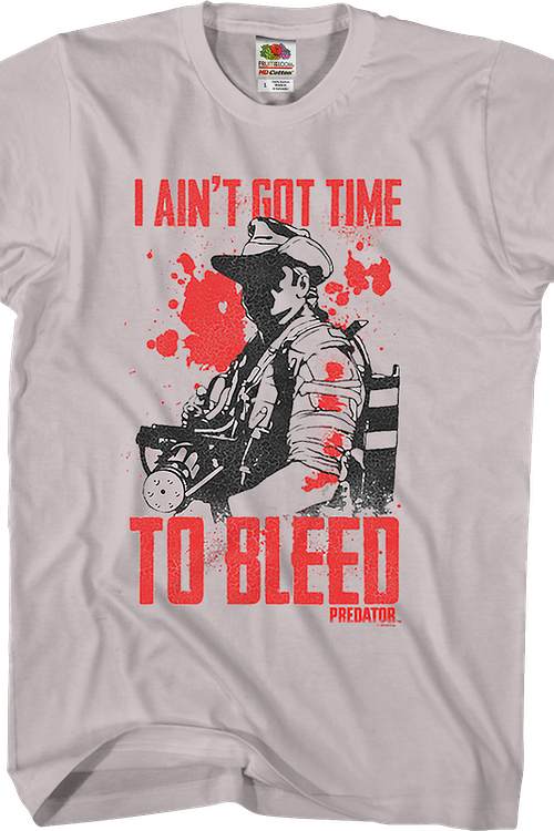 90d689d974e I Ain t Got Time To Bleed Predator Shirt  Predator Mens T-shirt