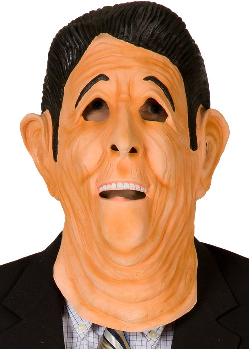 Ex-Presidents Ronald Reagan Mask