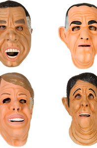Ex-Presidents Mask Set