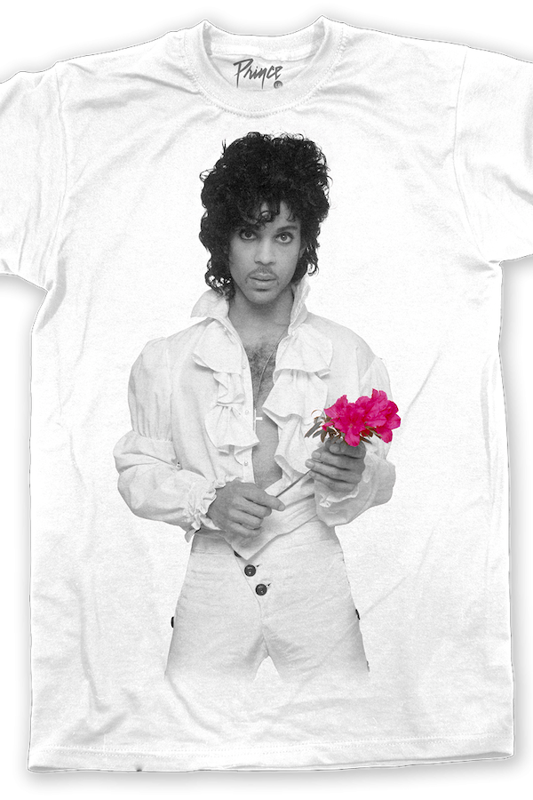 Purple Rose Prince T-Shirt